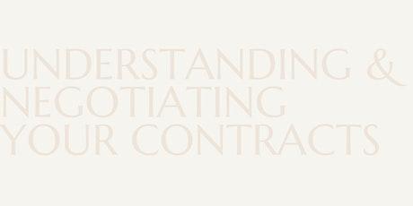 Understanding & Negotiating Your Contracts tickets