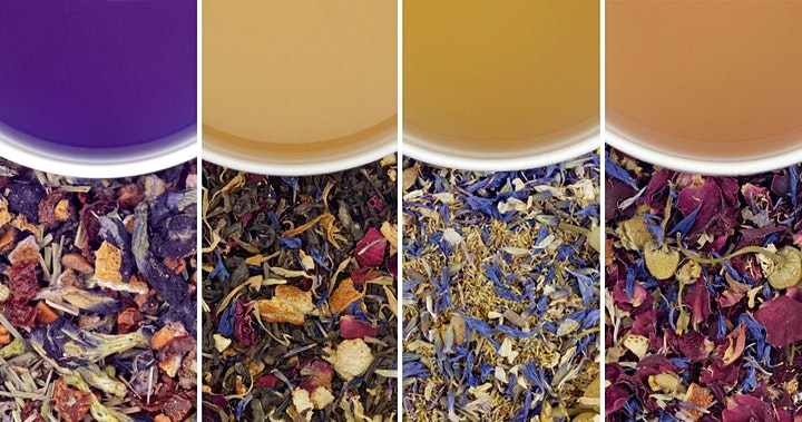 FLORAL TEAS:  A Virtual Tasting Special Event image