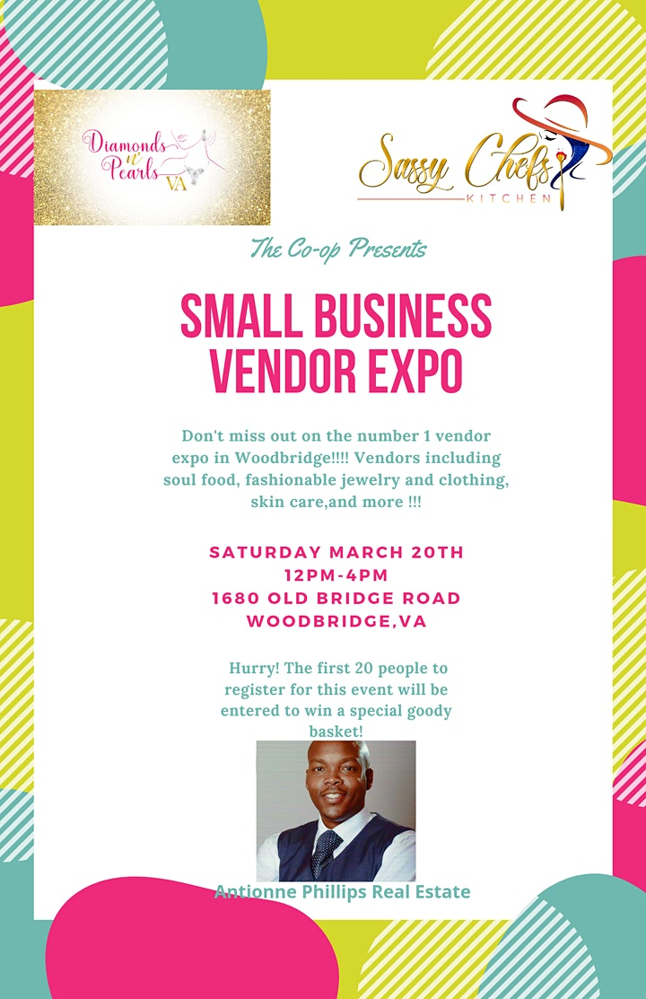 The Co-op Presents Small Business Vendor Expo image