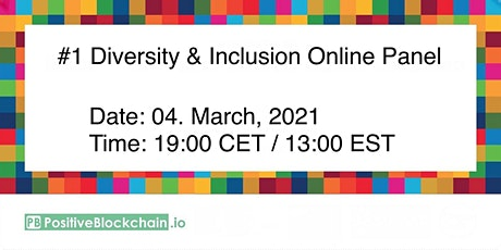 #1 Diversity & Inclusion Online Panel - Female role models. tickets