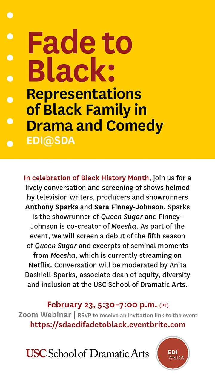 Fade to Black: Representations of Black Family in Drama and Comedy image