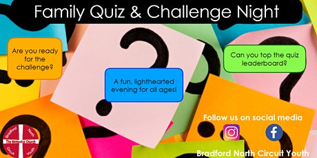 Family Quiz & Challenge Night tickets