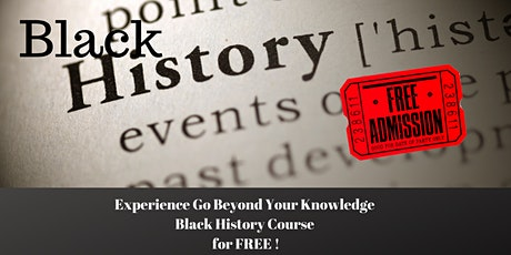 Sample GoBYK Black History Course for Free tickets