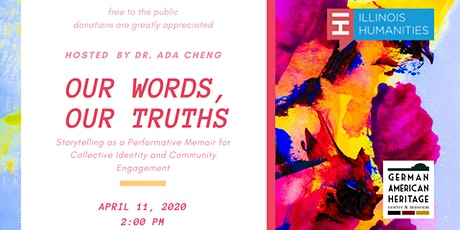 Our Words, Our Truths: Storytelling as a Performative Memoir tickets