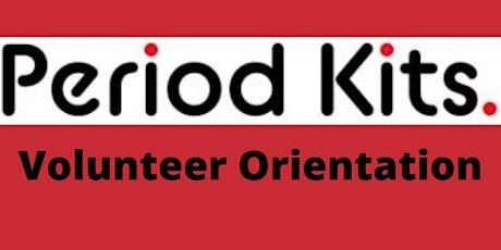 Period Kits Volunteer Orientation tickets