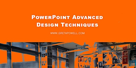 PowerPoint Design Techniques tickets