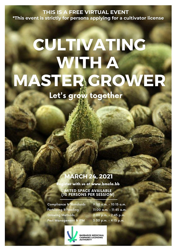 Cultivating with a Master Grower image