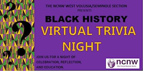 Black History Virtual Trivia Night tickets