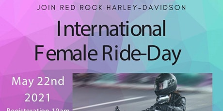 Red Rock Harley-Davidson Womens Ride and Canvas tickets