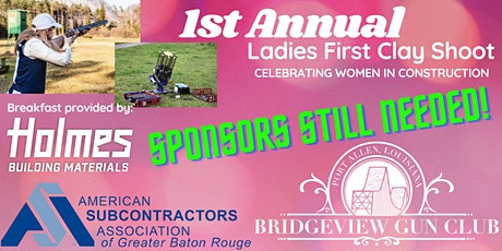 1st Annual Ladies First Clay Shoot tickets
