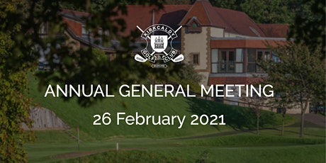 Kirkcaldy Golf Club Annual General Meeting 2021 tickets
