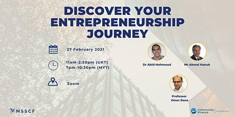 Discover your Entrepreneurship Journey tickets