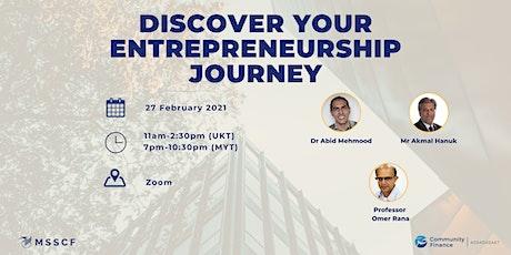 Discover your Entrepreneurship Journey biljetter