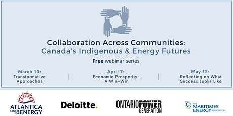 Collaboration Across Communities: Canada's Indigenous & Energy Futures tickets