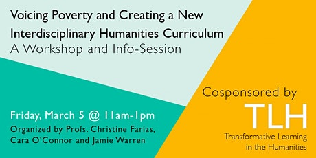 Voicing Poverty and Creating a New Interdisciplinary Humanities Curriculum tickets