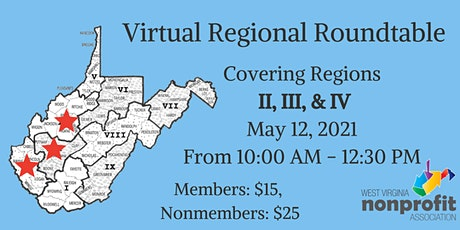 Region II, III, & IV Roundtable tickets