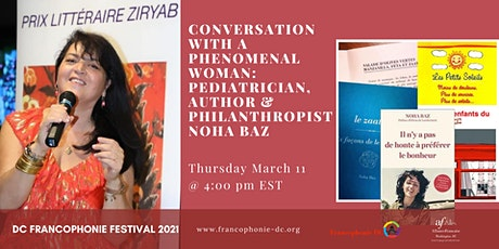 Meet a Phenomenal Woman: Pediatrician, Author & Philanthropist Noha Baz tickets