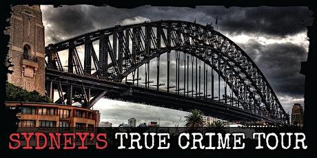 Sydney's True Crime Tour tickets