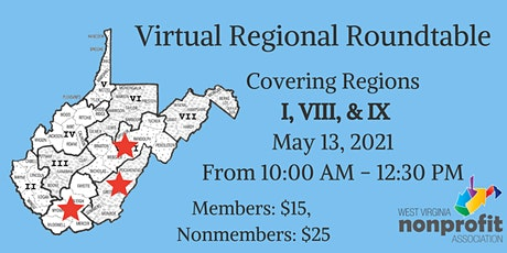 Region I, VIII, & IX Roundtable tickets