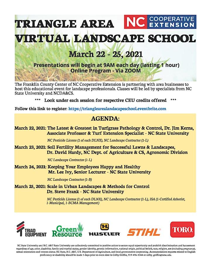 Triangle Area Virtual Landscape School image