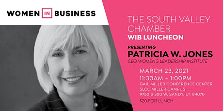 Women in Business Luncheon with Patricia Jones tickets