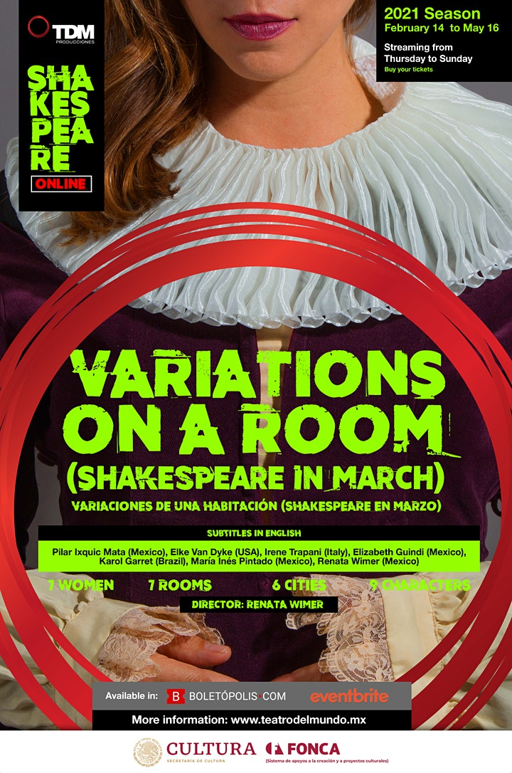 Imagen de Variations on a Room (Shakespeare in march) 2021 Season