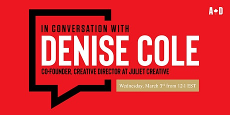 In Conversation with... Denise Cole tickets