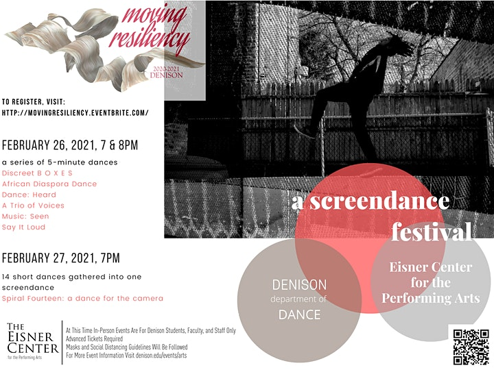 Moving Resiliency: A Screendance Festival image