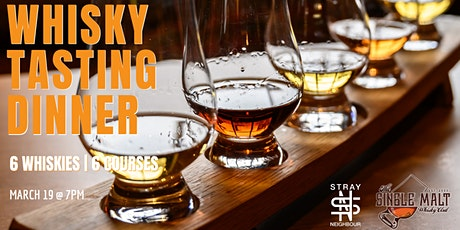The Single Malt Whisky Club - Whisky Tasting Dinner tickets