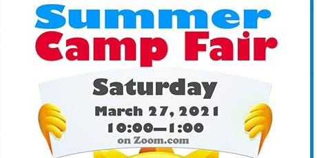 Virtual Summer Camp Fair tickets