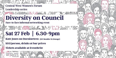 Central West Women's Forum - Diversity on Council, Getting Elected Event tickets