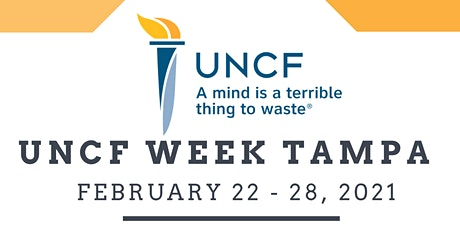 UNCF Week  Tampa Bay - (Choose a Day and Time to Participate) tickets