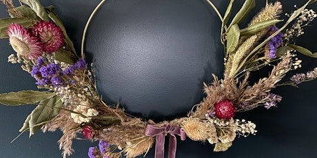 Everlasting Floral Wreath–Zoom Workshop or Kit only - (Mother's Day Gift) tickets