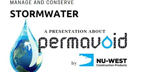 Stormwater Utilization - Conservation, Storage and More tickets