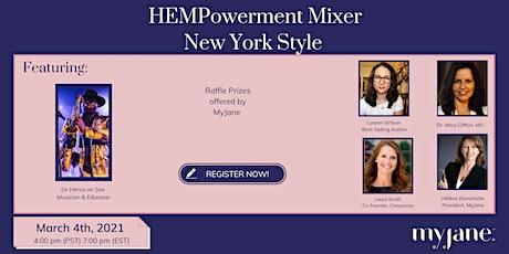HEMPowerment Mixer - New York Style tickets