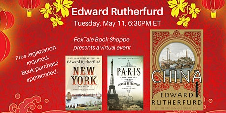 Edward Rutherfurd, China Virtual tickets