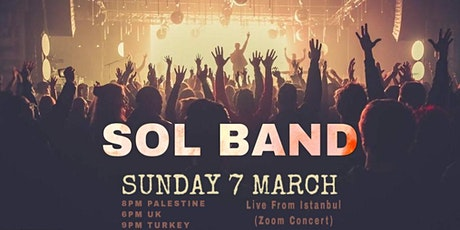 Sol Band live from Istanbul - Zoom concert tickets