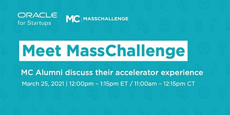 MassChallenge Alumni discuss their accelerator experience tickets