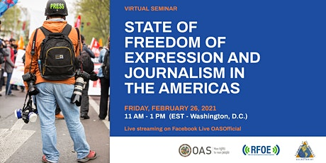Virtual Seminar: Freedom of Expression and Journalism in the Americas tickets