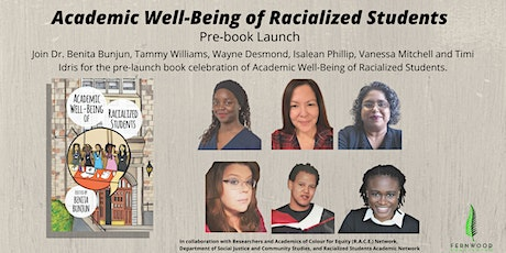 Academic Well-Being of Racialized Students Pre-book Launch tickets
