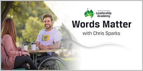 Words Matter tickets