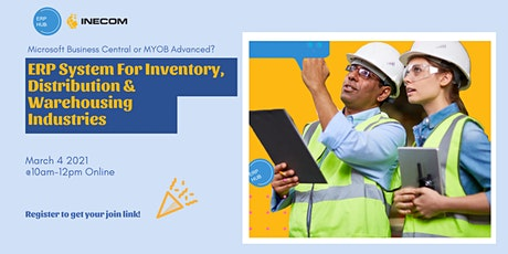 ERP HUB: Which ERP system is best for Inventory, Distribution & Warehouse! tickets