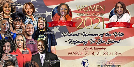 Refusing To Be Silent - Women's History Month Celebration  2021 tickets