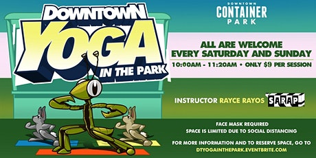 Downtown Yoga In The Park tickets