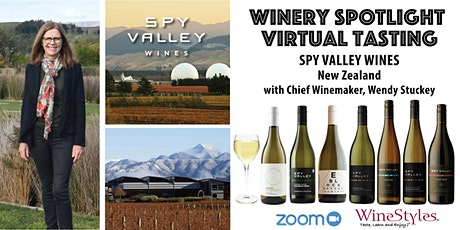 Spy Valley Wines Virtual Tasting tickets