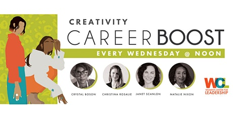CAREER BOOST: Creativity (4-part discount package) tickets