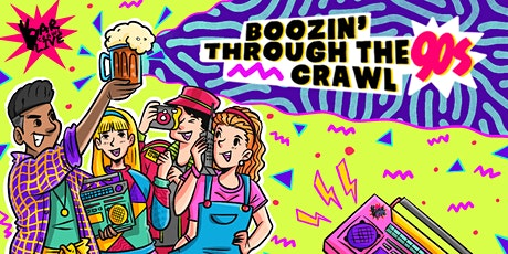 Boozin' Through The 90s Bar Crawl | Richmond, VA - Bar Crawl LIVE! tickets