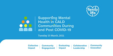 Free Webinar - Supporting Mental Health in CALD Co tickets