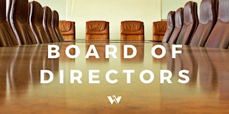 Board of Directors Meetings tickets