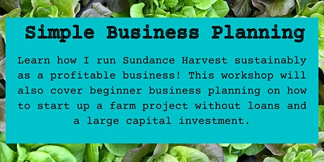 Simple Business Planning tickets
